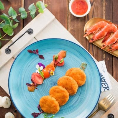 泰式鲜虾饼